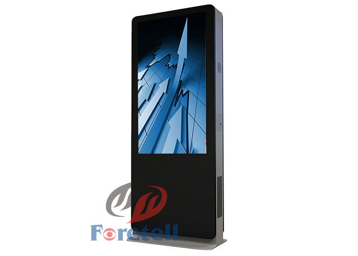 Ultra - Thin 70 Inch Lcd Advertising Player , TFT - LCD Panel Outdoor Advertising Display