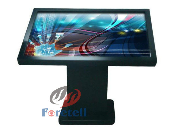 32 Inch 4k Monitor LCD Advertising Display , Touch Screen 4k Monitor Indoor Digital Signage