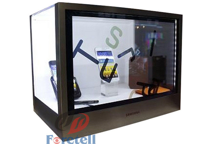 Colorful Transparent LCD Display Touch Screen Transparent Monitor Acrylic + Aluminum Case